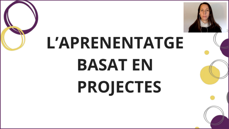 Xerrada aprenentatge basat en projectes